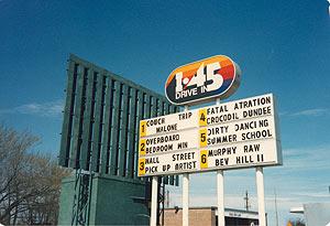 Cinema Houston Drive In Theatres